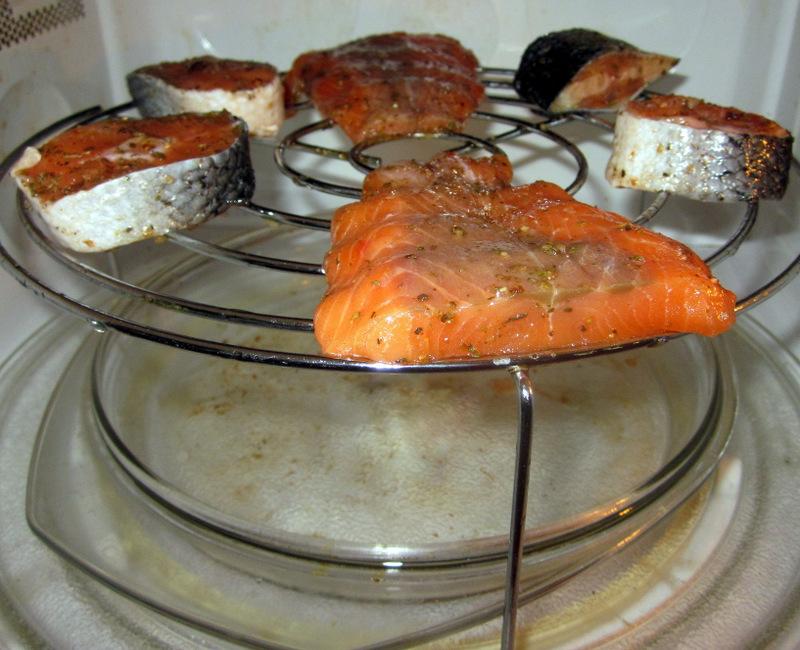 Рыба гриль пошагово