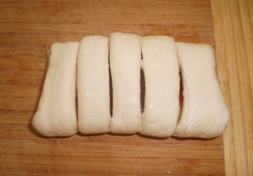 Пирожки слоеные с вареньем - фото шаг 3