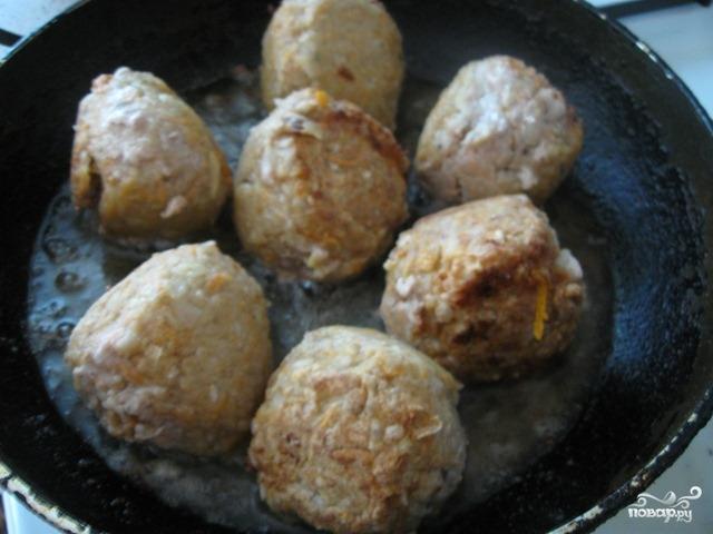 Как готовить тефтели с рисом и подливкой пошаговый рецепт с фото в духовке