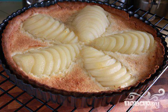 Миндальный пирог с грушами - фото шаг 8