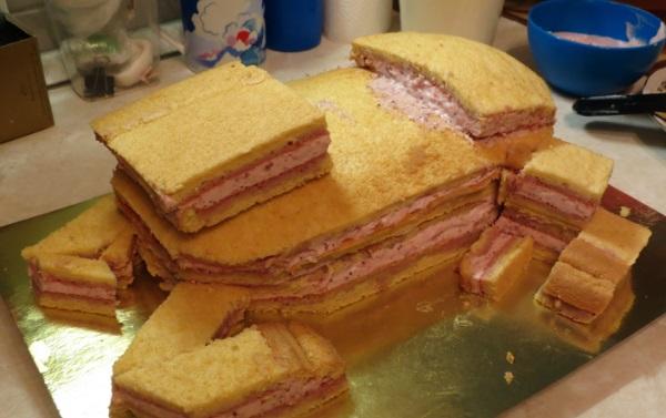 "Торт ""Лошадь"" - фото шаг 3"