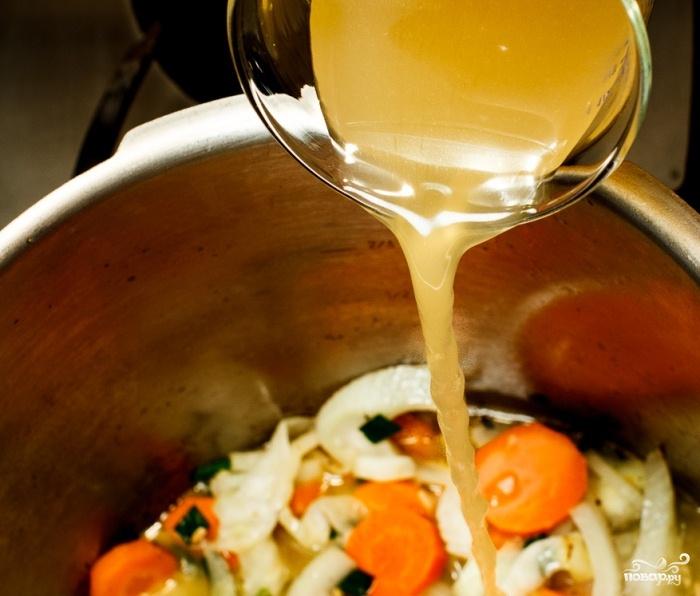 Морковный суп-пюре с фенхелем - фото шаг 3