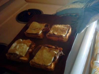 Бутерброды Ростбиф Азиаго - фото шаг 7