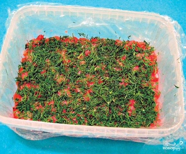 Запеченная рыба под шубой  пошаговый рецепт с фото на