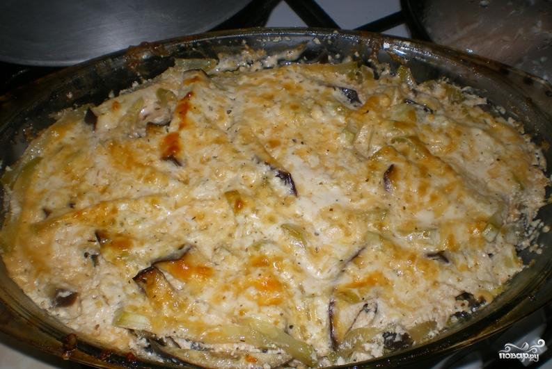Овощи под сырным соусом - фото шаг 3