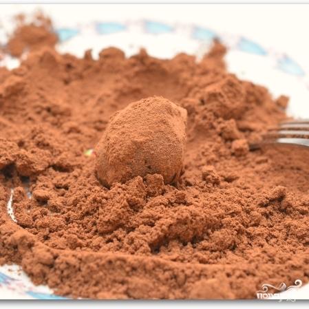 Шоколадные трюфели с ромом - фото шаг 8