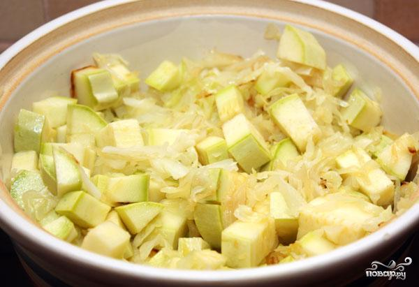 Овощное рагу с кабачками - фото шаг 2