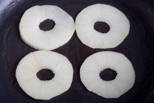 Блины с яблочным припеком - фото шаг 3