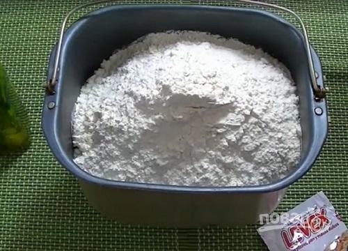 как приготовить тесто для пиццы в хлебопечке