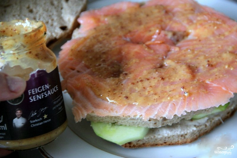 Шведский бутербродный торт - фото шаг 5