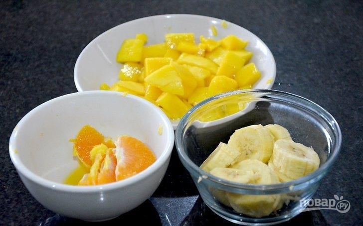 """Фруктовый салат """"Простой"""" с йогуртом"""