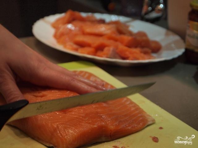 Рыба по-китайски в кисло-сладком соусе - фото шаг 2