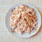 Рецепт Салат с кольраби и корнем петрушки