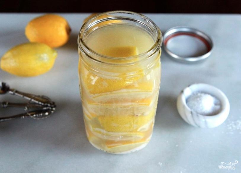 Лимоны консервированные - фото шаг 5