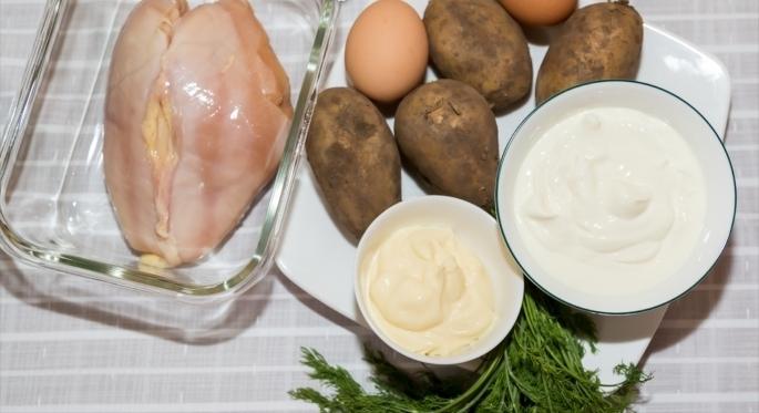 Рецепт Заливной пирог с курицей