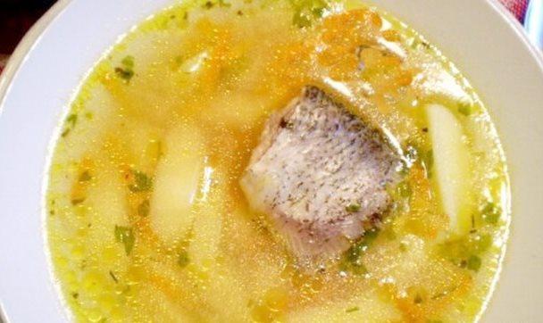 Рыбный суп с пшеном - фото шаг 6