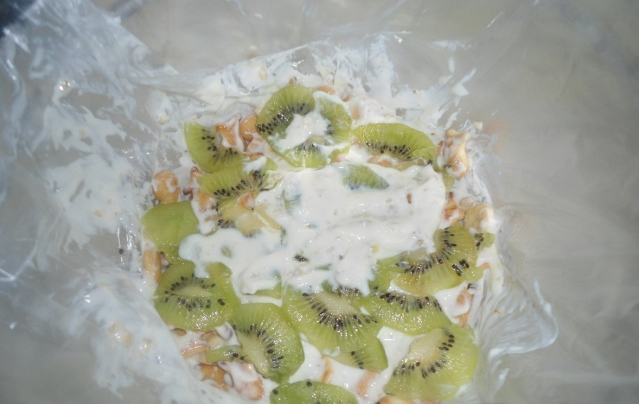 Торт из крекеров без выпечки - фото шаг 4