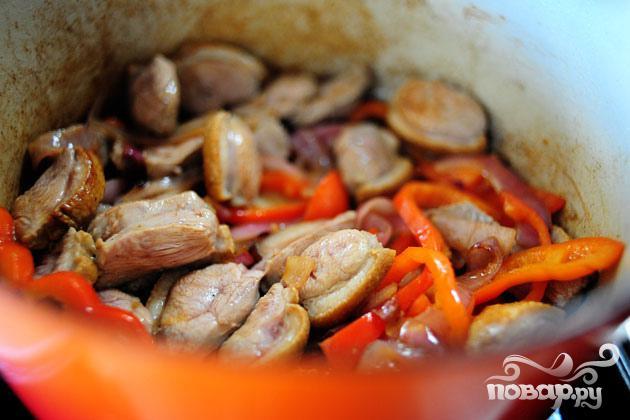 Утка по-тайски с карри и овощами - фото шаг 4
