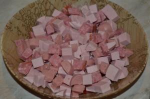 Рецепт Гуляш из колбасы