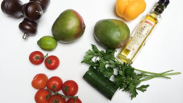 Рецепт Сальса с манго