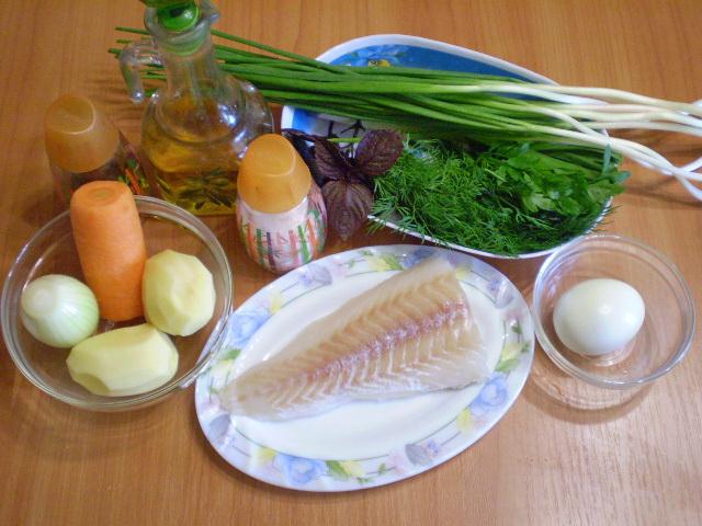 Рецепт Рыбный суп из хека