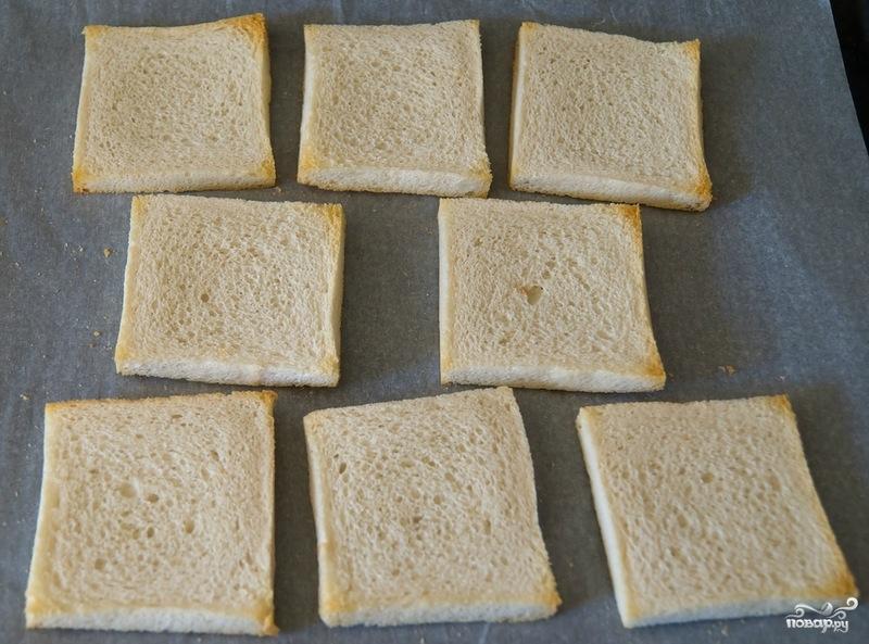 Гренки с сыром - фото шаг 3