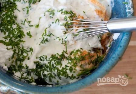 Картофельный салат с сыром - фото шаг 4