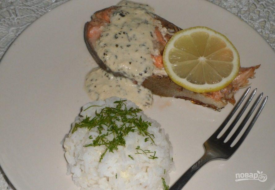 Рецепты с форели под сливочным соусом