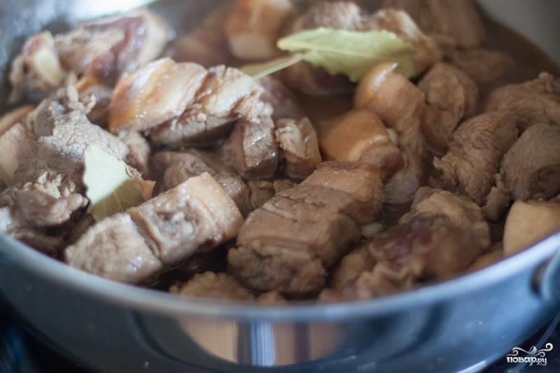 Мясо по-филиппински - фото шаг 4