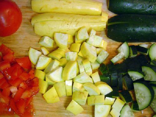 Лингвини с овощами - фото шаг 1
