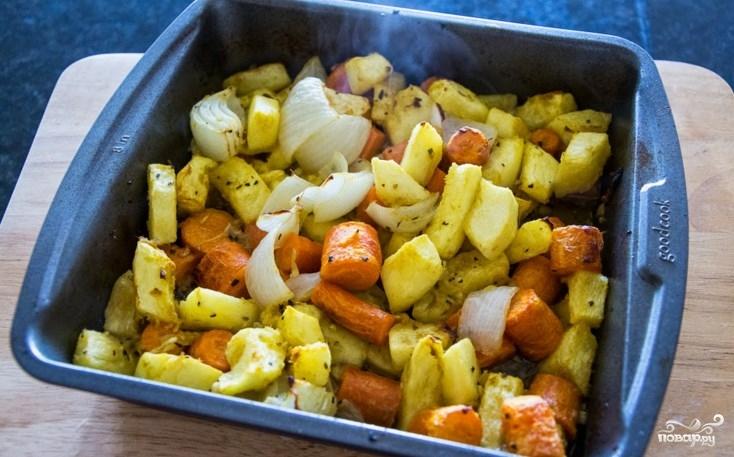 Пюре из тыквы и моркови - фото шаг 6