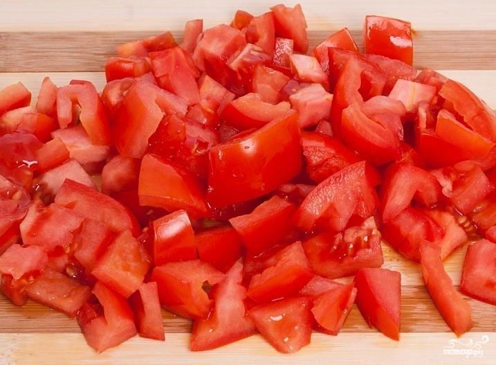 Простой греческий салат - фото шаг 2