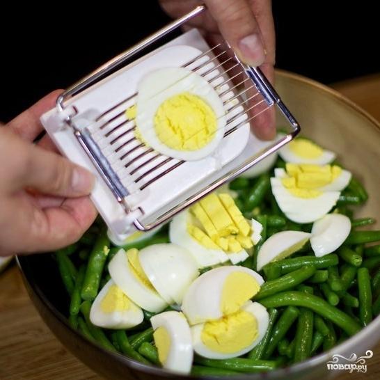 Салат из стручковой фасоли - фото шаг 7