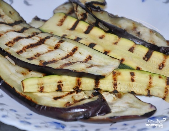 Лаваш с овощной начинкой - фото шаг 2