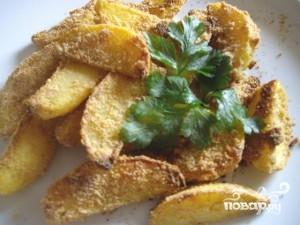 Картофель в сухарях - фото шаг 3