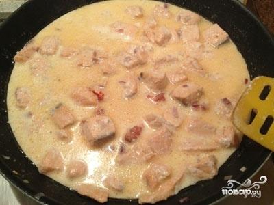 Крем-суп из лосося - фото шаг 6