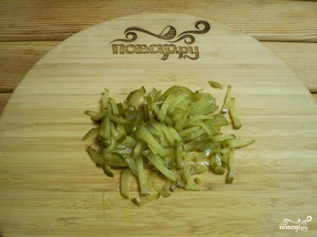 Вегетарианская селедка под шубой с нори - фото шаг 2