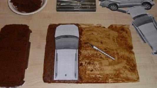 """Торт """"Автомобиль"""" - фото шаг 2"""