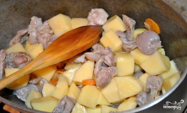 Картофель с мясом и овощами - фото шаг 12