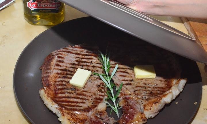 Мясо на сковороде-гриль - фото шаг 3