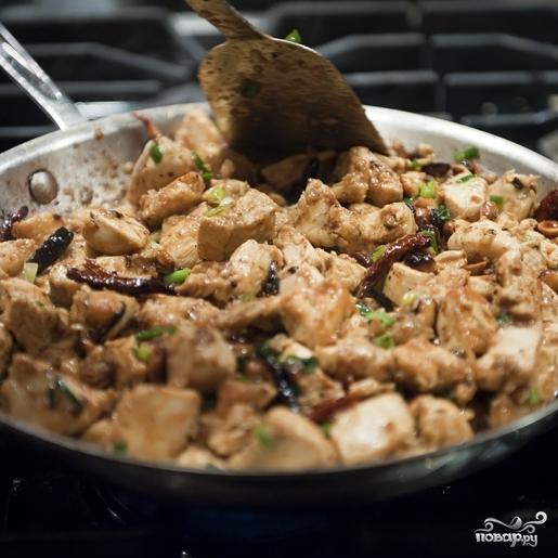 Курица в соусе по-китайски - фото шаг 12
