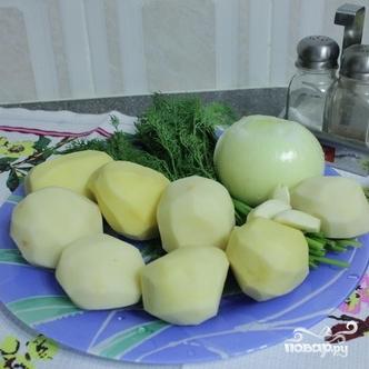 Рецепт Драники с чесноком
