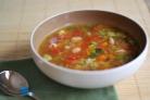 Овощной суп с болгарским перцем