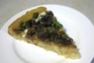 Постный грибной пирог