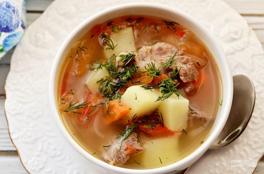 суп харчо видео рецепт грузинский