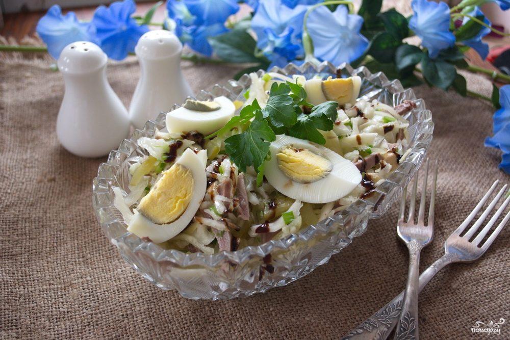 салат с капустой быстро и вкусно рецепты с фото