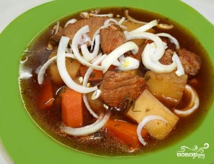 картошка с грибами и свининой в горшочке фото рецепт