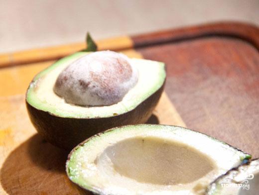 Крем из авокадо - фото шаг 1