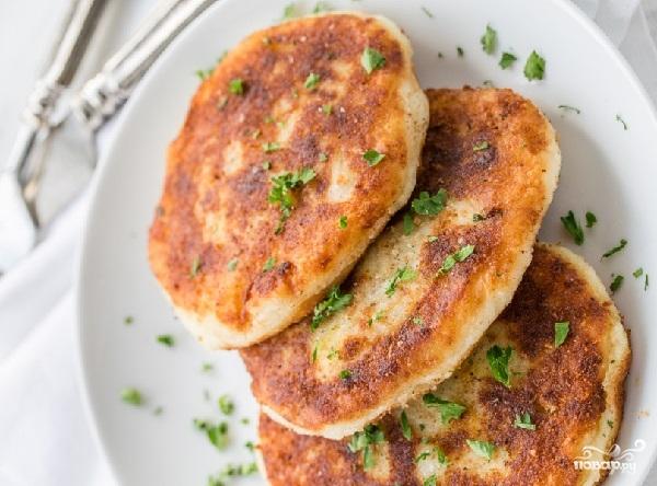 рецепт и калорийность картофельных котлет