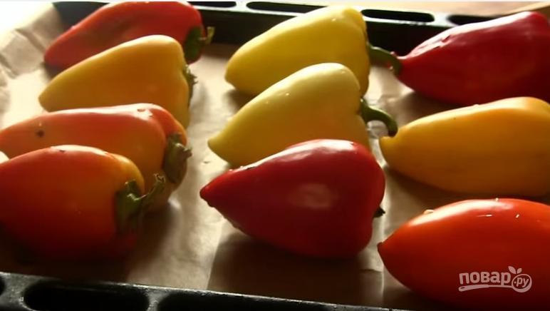 перец фаршированный рецепт в духовке с брынзой
